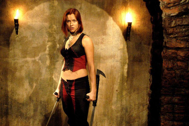 Кристанна Локен в экранизации игры Bloodrayne / pinterest.com