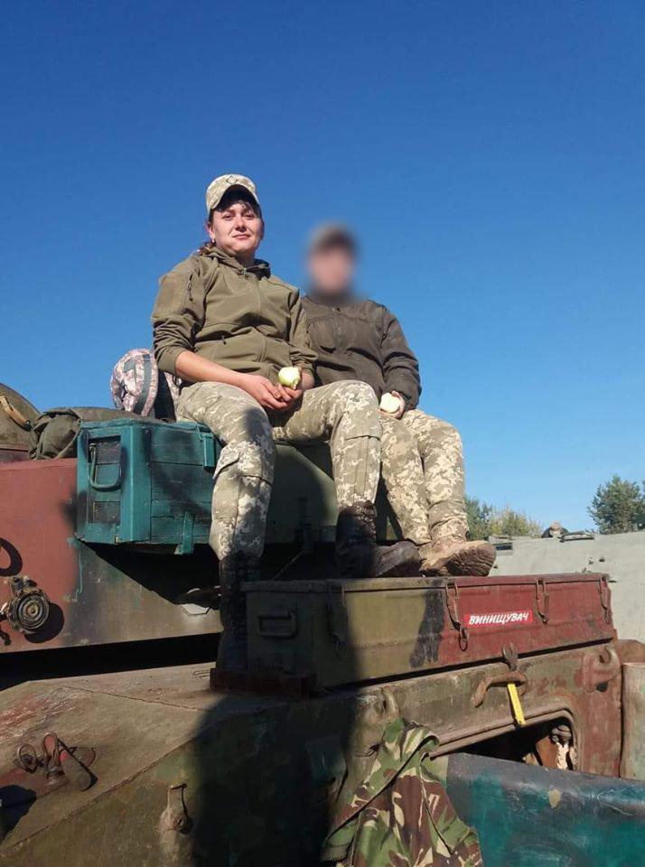 Сытник Клавдия была старшим боевым медиком механизированной роты / Фото: Facebook, 93-тя ОМБр Холодный Яр