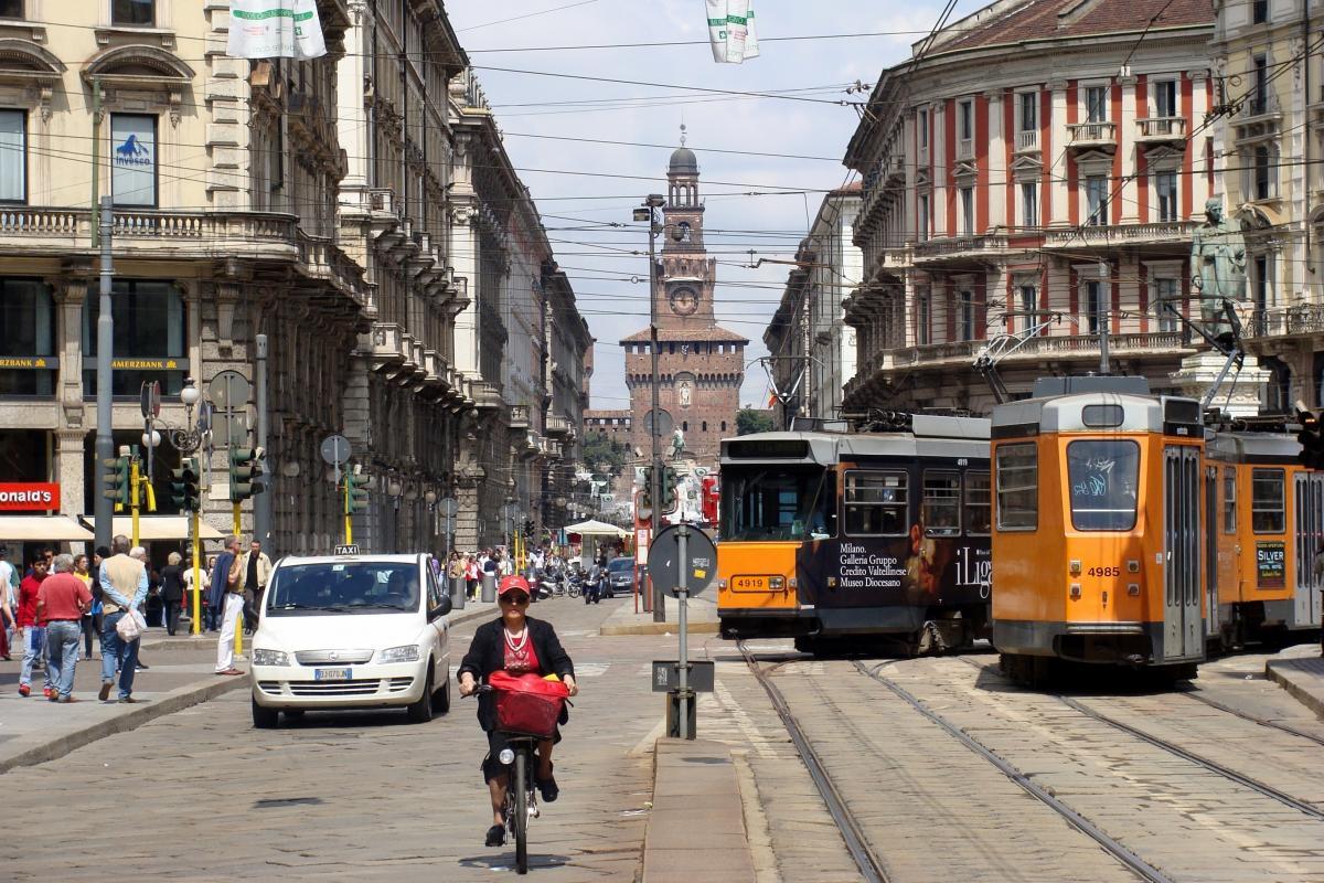 Милан является одним из самых загрязненных городов Европы/ фото: wikimedia
