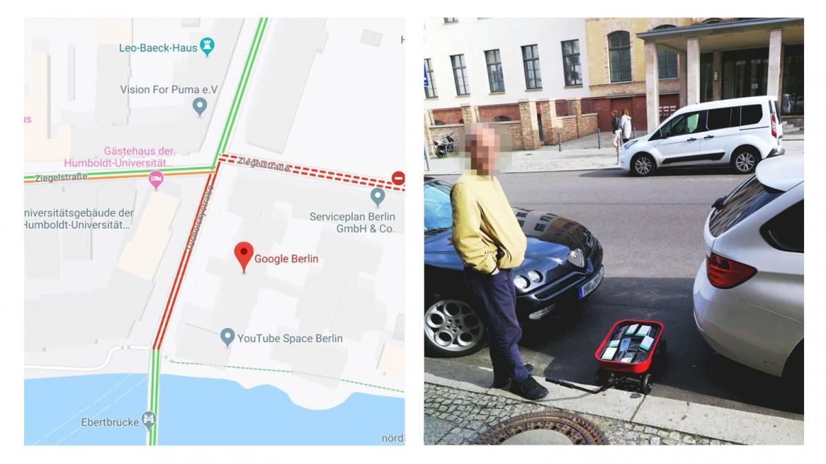 Hudozhnik Iz Berlina Ustroil Virtualnye Probki V Google Maps S
