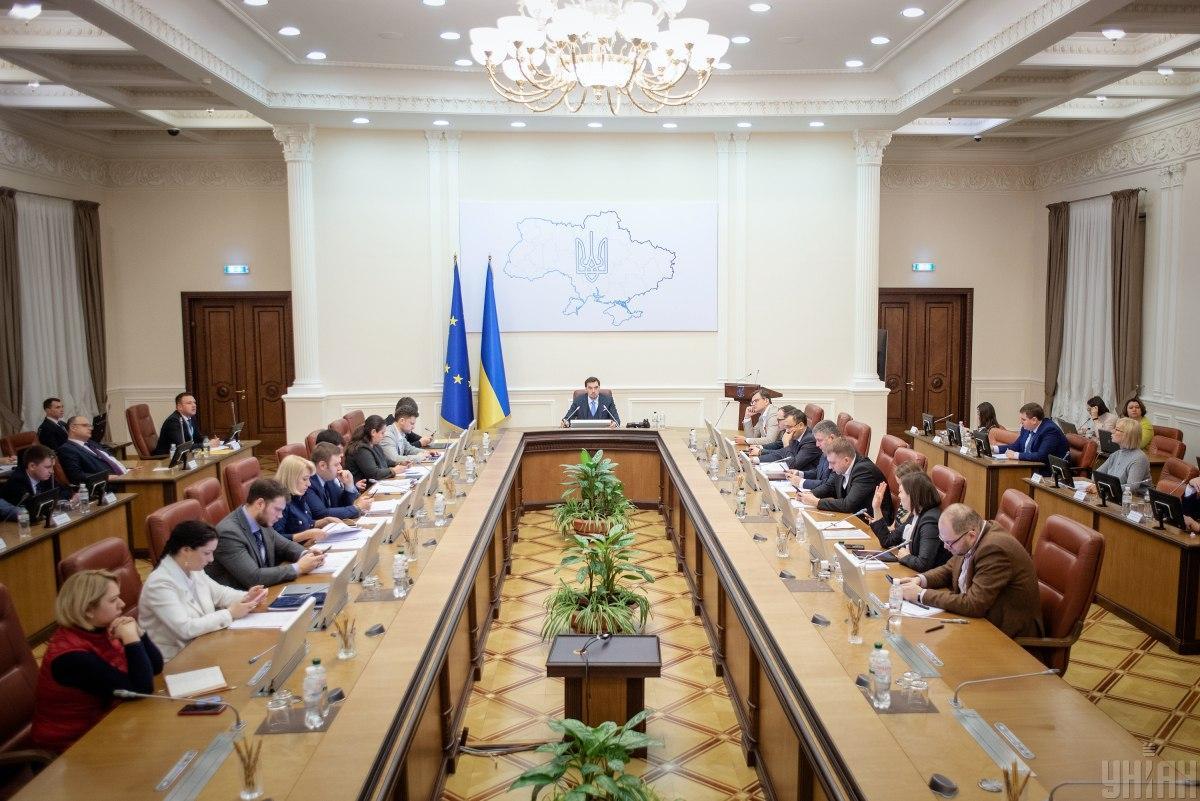 Действующему правительству Украины доверяют 28% украинцев, не доверяют - 64,5%, респондентов / фото УНИАН