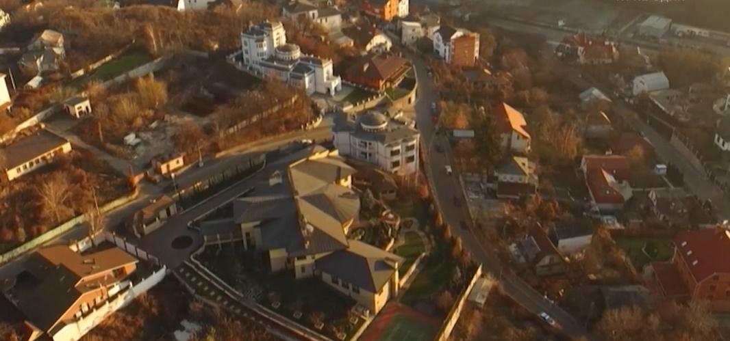 Маєток Кононенка в цетрі Києва / скрін відео