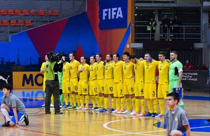 Украинцы набрали 1 очко в трех матчах / фото: futsal.com.ua