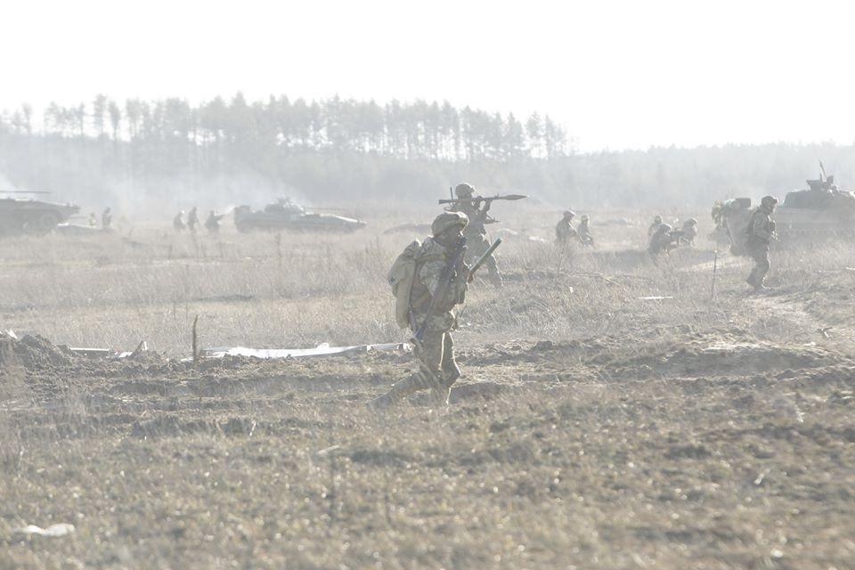 На Севере Украины состоялись учения / фото facebook.com/GeneralStaff.ua/