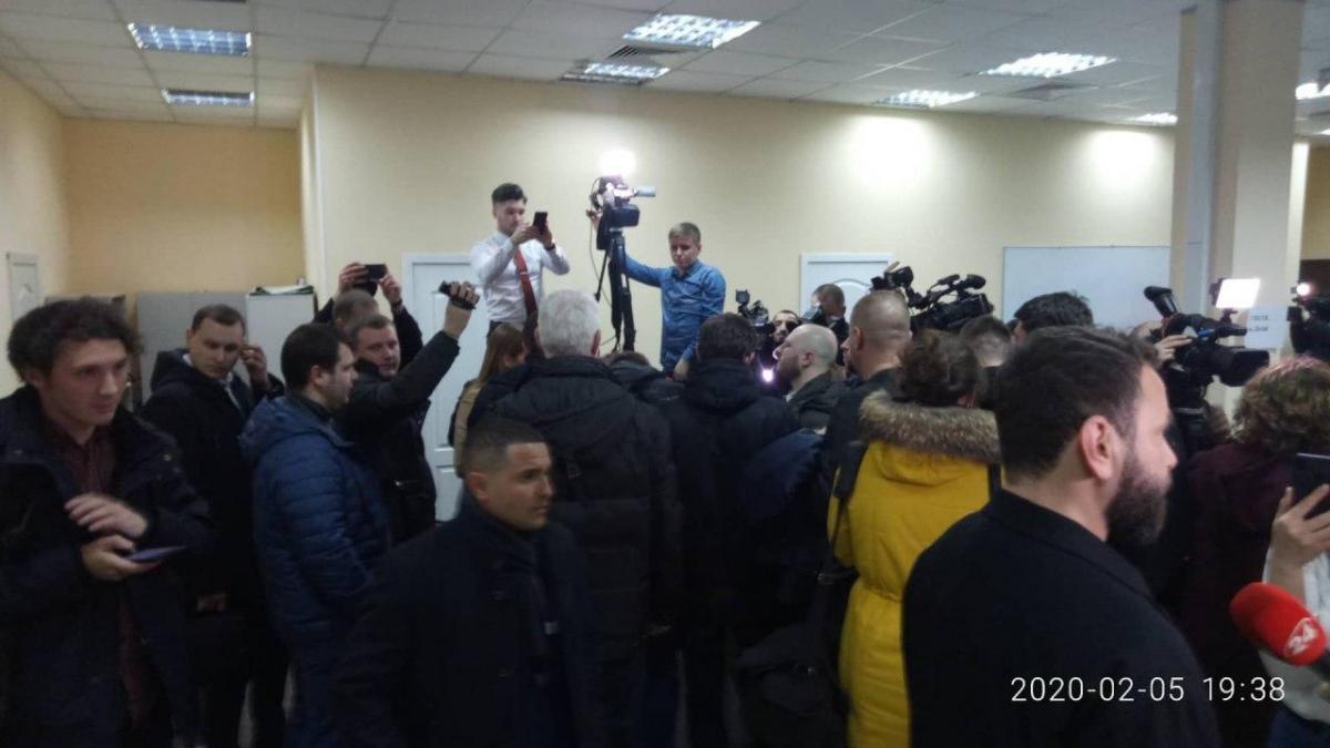 """Обыски в офисе телеканала """"1+1"""" накануне провела СБУ / фото УНИАН"""