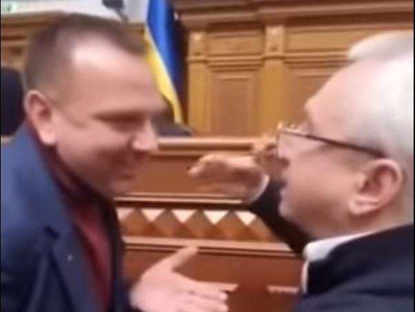 Суперечка виникла між Ткаченком і Кучеренком / скріншот з відео