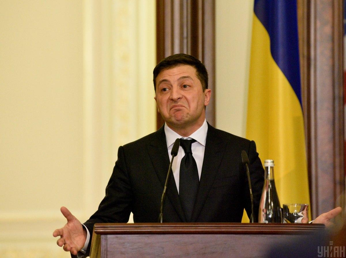 По словам Зеленского, информацию об обысках он знал из новостей / фото УНИАН