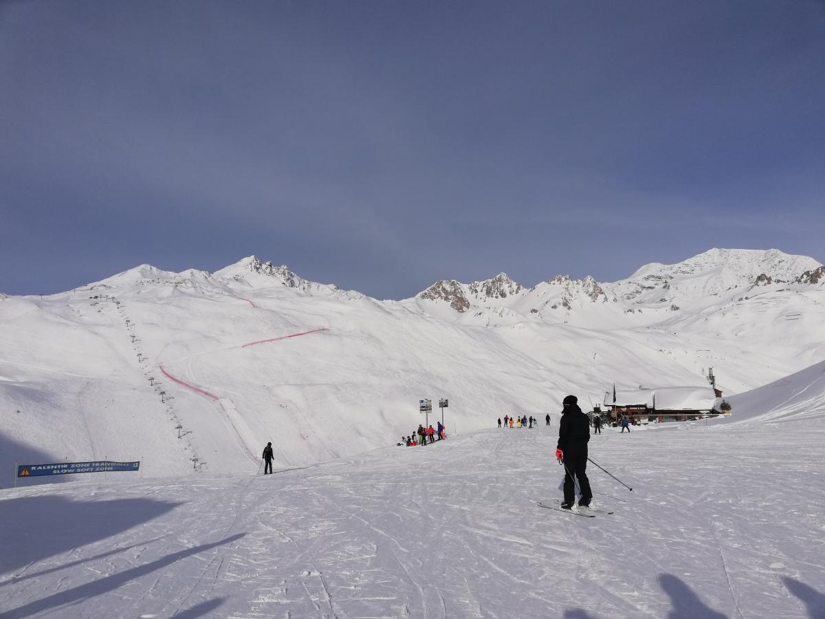 Новый сезон во Французских Альпах вот-вот начнется / фото Марина Григоренко