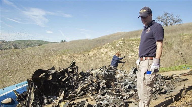 Вертолет полностью сгорел / фото: nbcnews.com