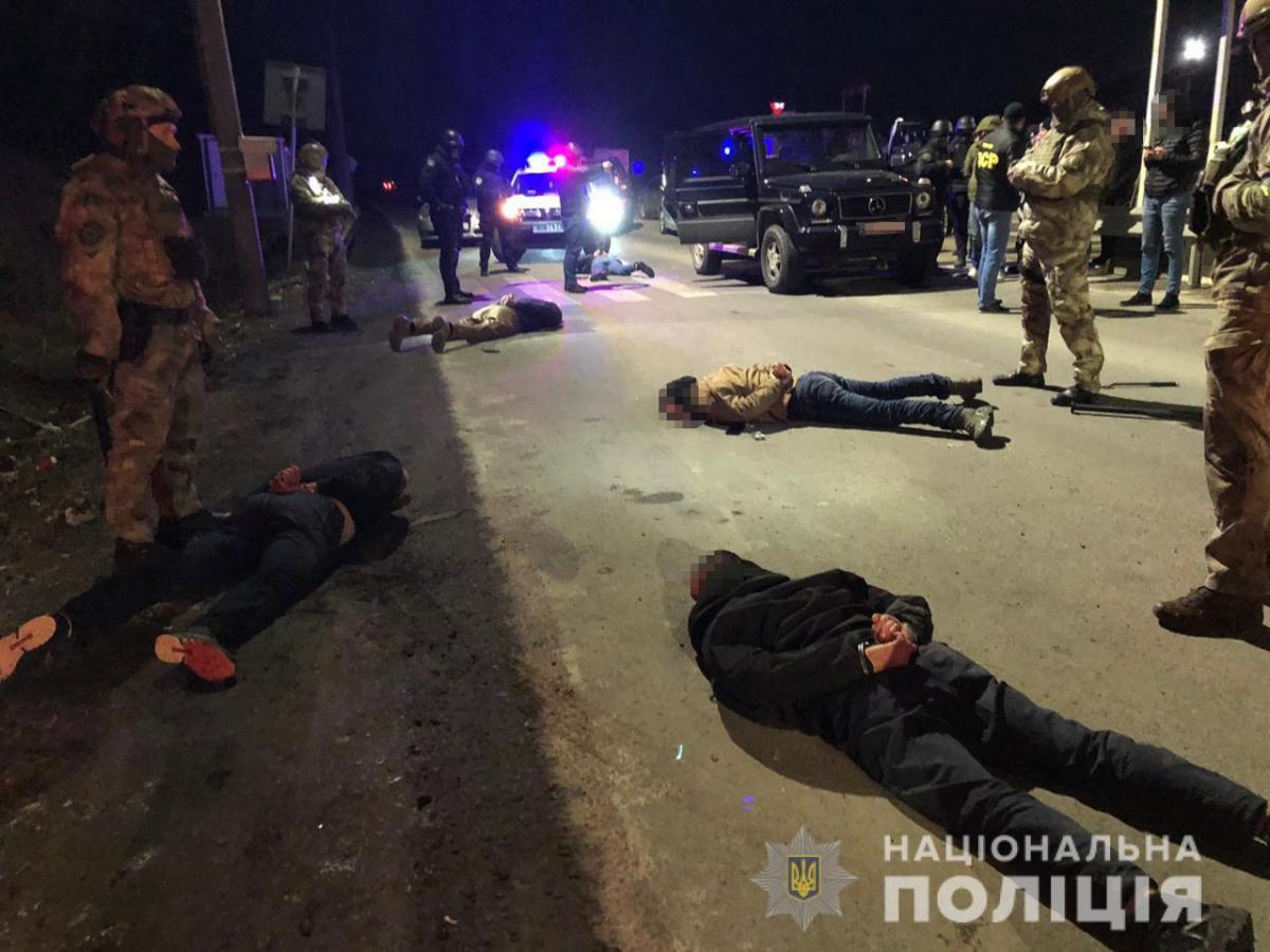 В полиции рассказали подробности задержания бандитов в Закарпатье / npu.gov.ua
