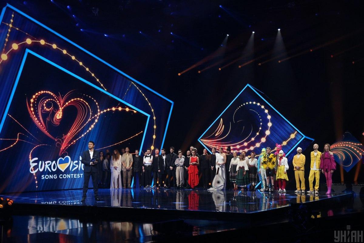 Учасники фіналу Нацвідбору на Євробачення 2020 / фото УНІАН