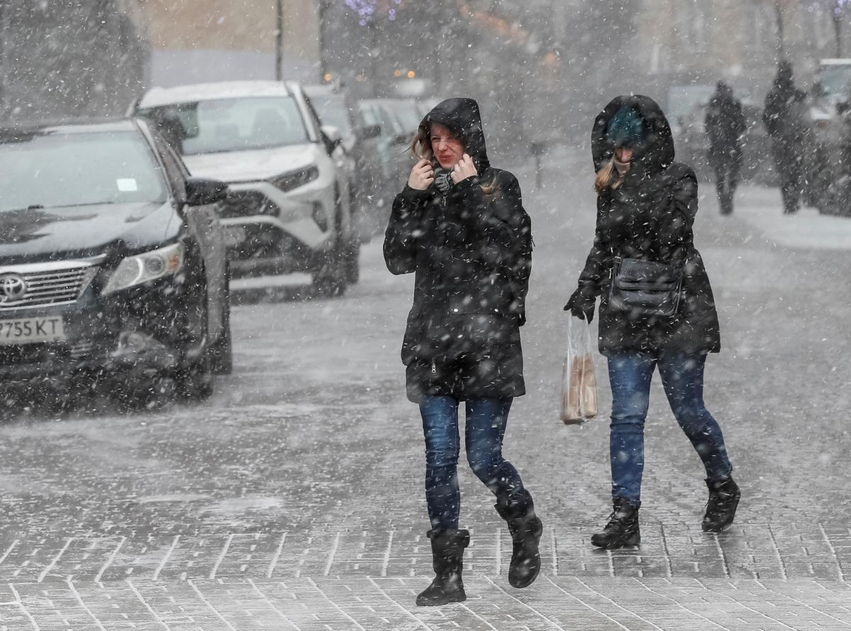 В Северодонецке сегодня возможен сильный снегопад / REUTERS