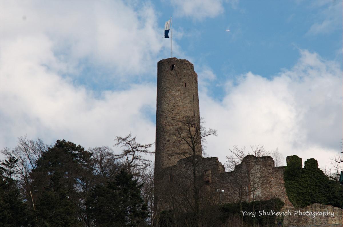 Вежа замку Віндек / фото Yury Shulhevich