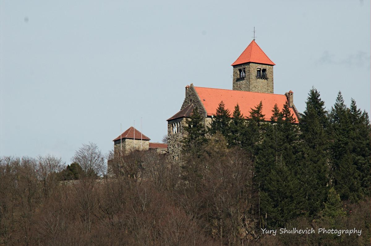 Замок Вахенбург / фото Yury Shulhevich