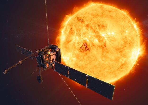 Solar Orbiter уже летит к Солнцу / ESA/ATG medialab