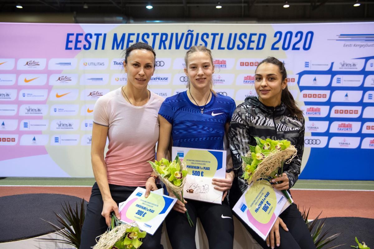 Украинки сформировали топ-3 соревнований / фото: НОК Украины
