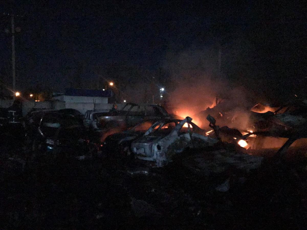 Во время пожара никто из людей не пострадал / Фото: ГСЧС