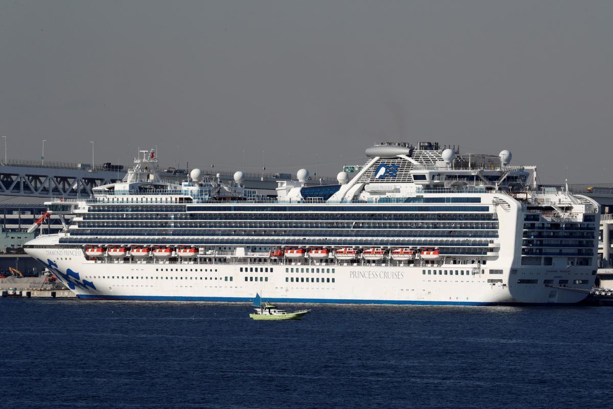 Круизный лайнер Diamond Princess / REUTERS