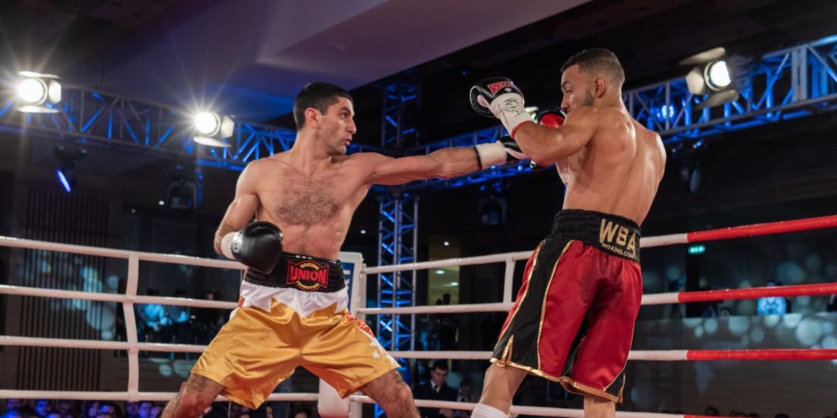 Далакян сумел победить с переломом / фото: Union Boxing Promotion