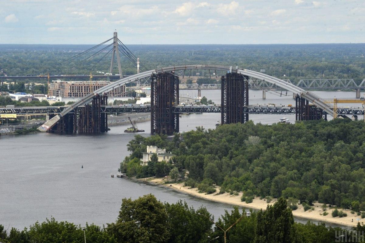 Подольский мост / фото УНИАН