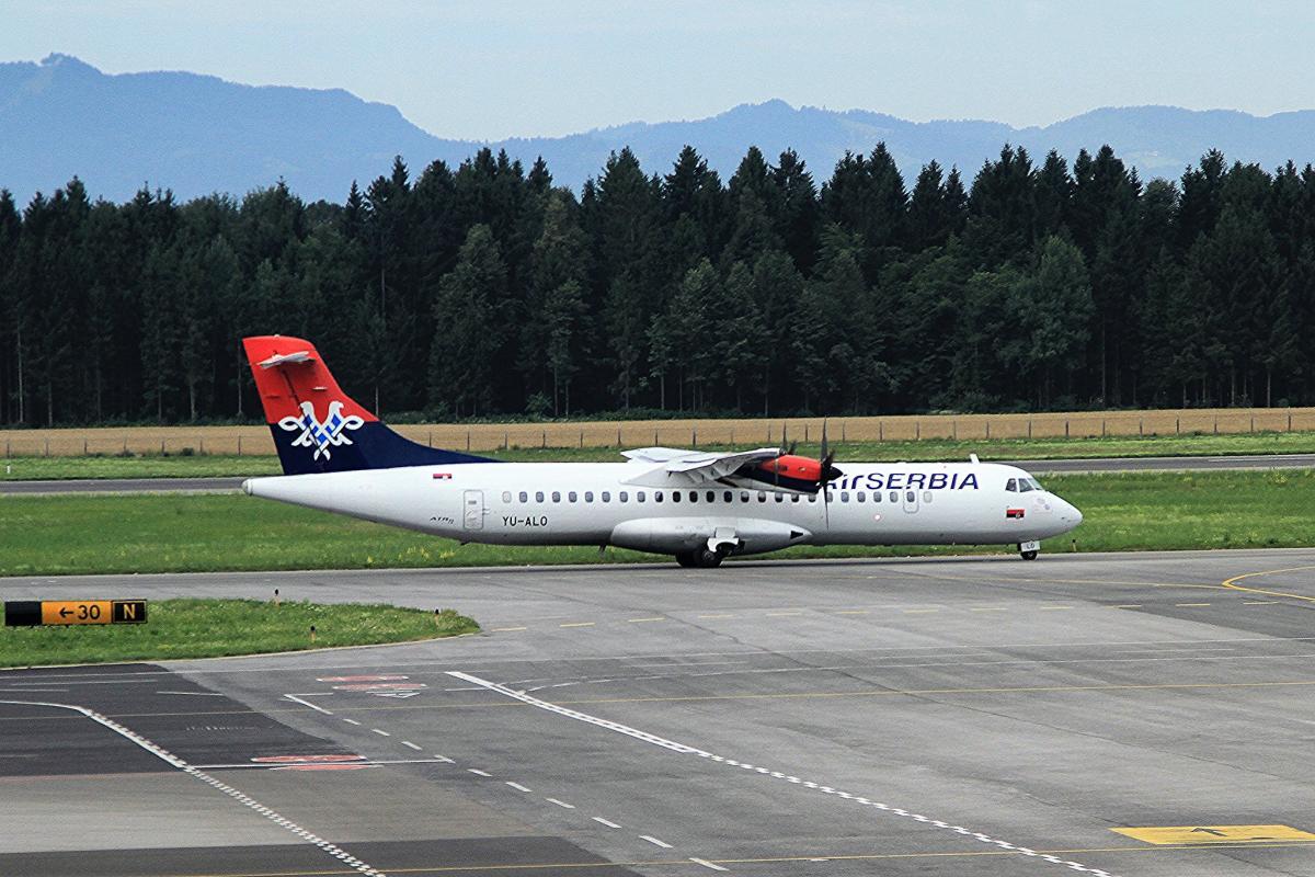 Air Serbia має намір використовувати регіональні літаки ATR 72 / фото flickr.com/131806380@N05