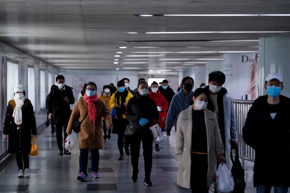 Хвиля епідемії коронавіруса в Китаї пішла на спад / Ілюстрація REUTERS