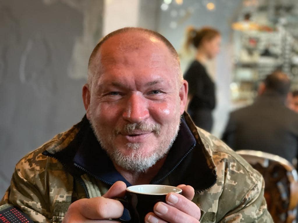 За годы службыИгоря Надолько четыре раза был контужен / фото: Юлия Паевская/Facebook