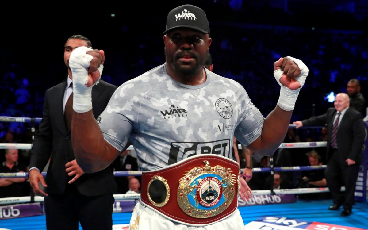 Чисора намерен делать акцент на атаке в бою с Усиком / фото: BoxingScene