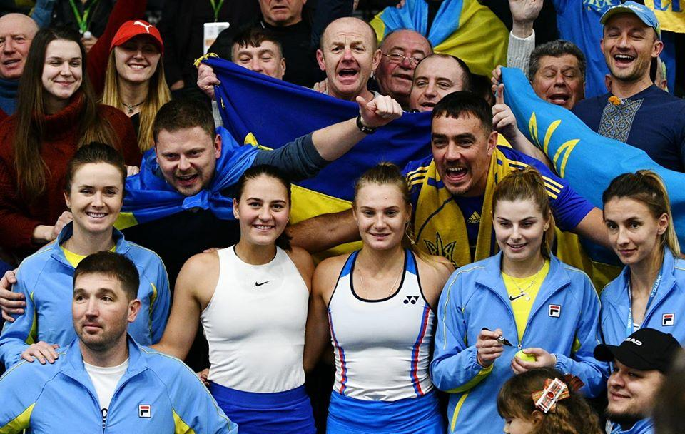 Українські тенісистки здобули три перемоги поспіль у 2020 році / фото: facebook.com/UkrainianTennisFederation
