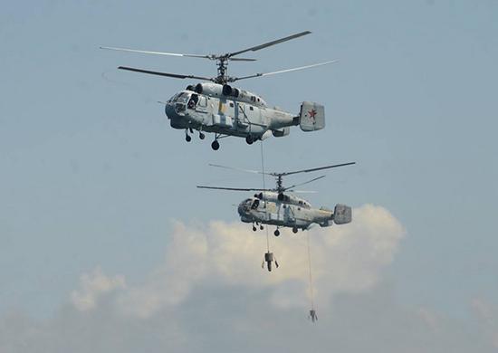В районе Джанкоя жестко сел вертолет / фото: минобороны РФ
