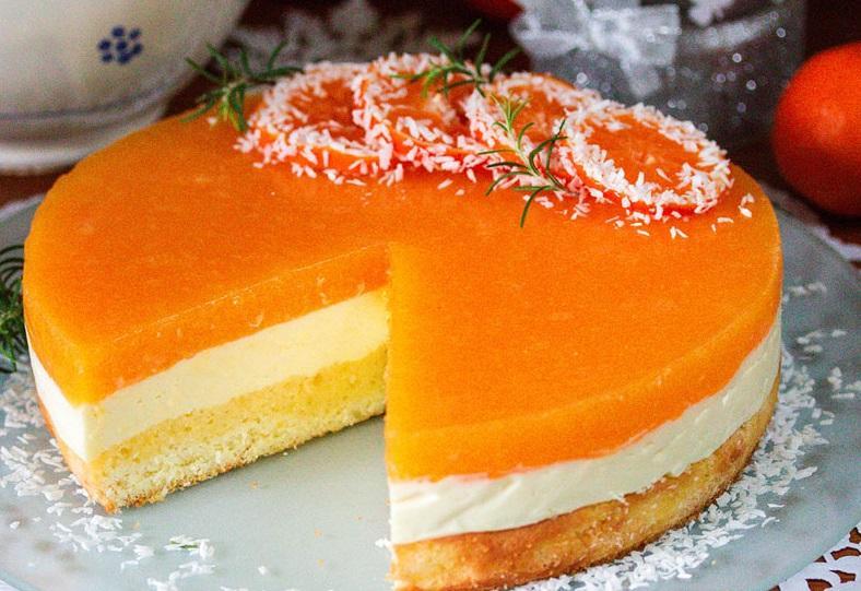 Як приготувати мандариновий торт - рецепт / smachno.in.ua