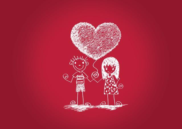 Листівки з Днем святого Валентина