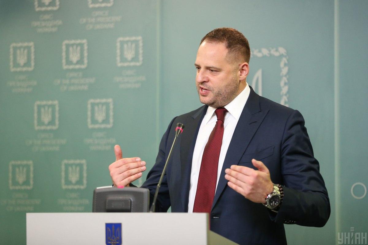 Ермак подчеркнул, что украинские власти планируют провести выборы на Донбассе \ Фото: УНИАН