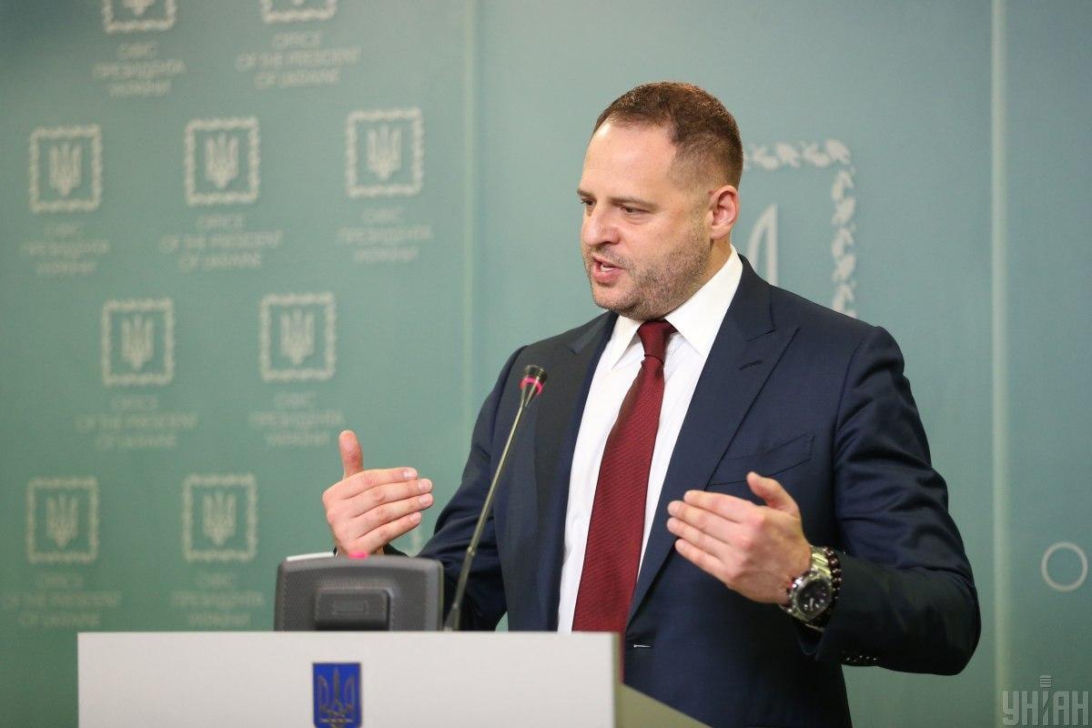 Andriy Yermak spoke about support for Ukraine's accession to NATO / photo UNIAN, Vyacheslav Ratinsky