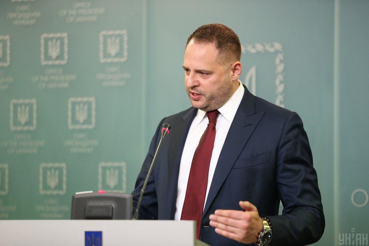 Ермак заявил, что представители террористов не будут принимать участия в переговорах ТКГ / Фото: УНИАН