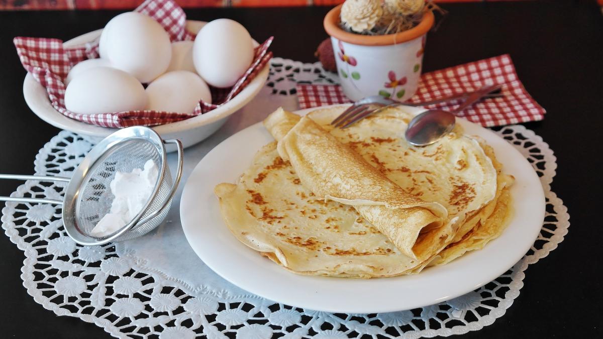 Рецепт тоненьких млинців / Фото: pixabay.com