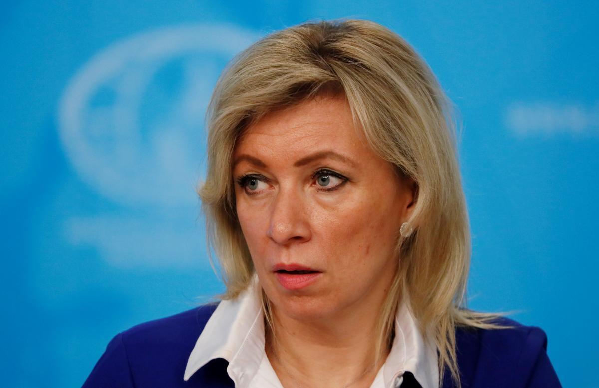 Захарова, яка відстоює окупацію Криму,згадала Міжнародний пакт про громадянські і політичні права / Марія Захарова / REUTERS