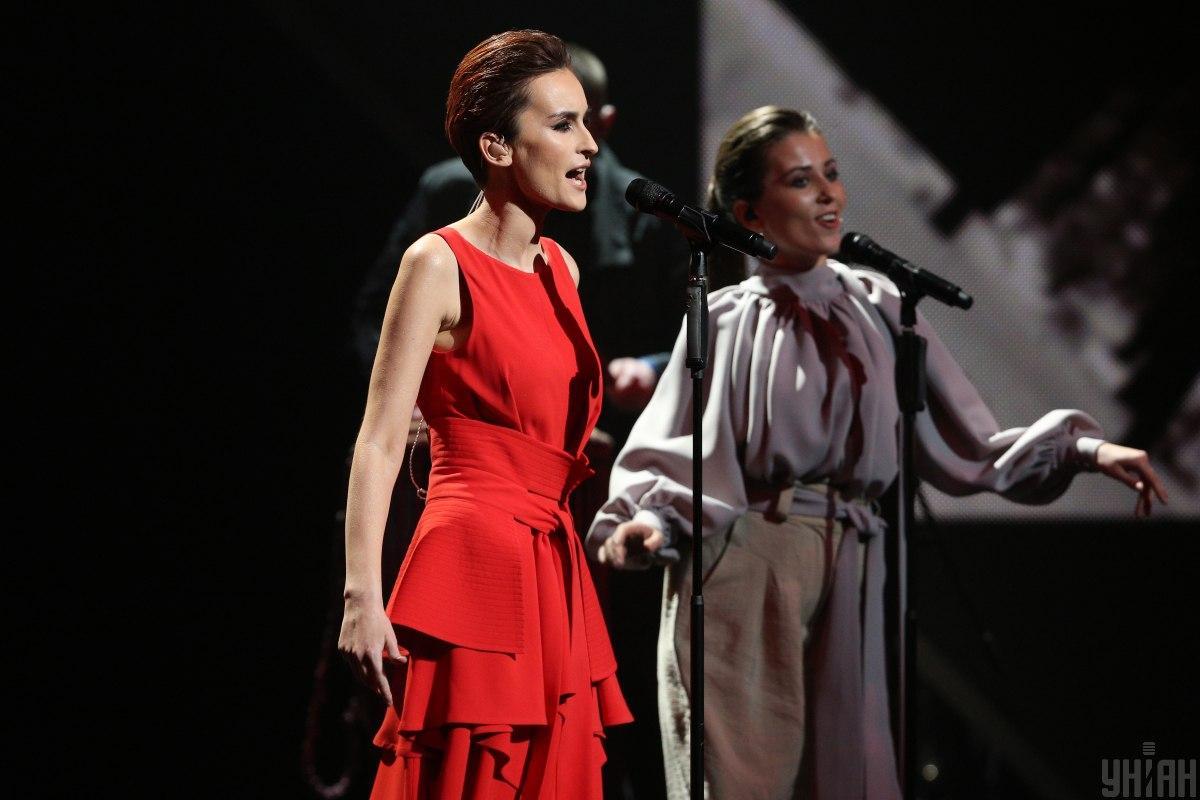 Виступ гурту Go_A на Нацвідборіна Євробачення 2020 / фото УНІАН