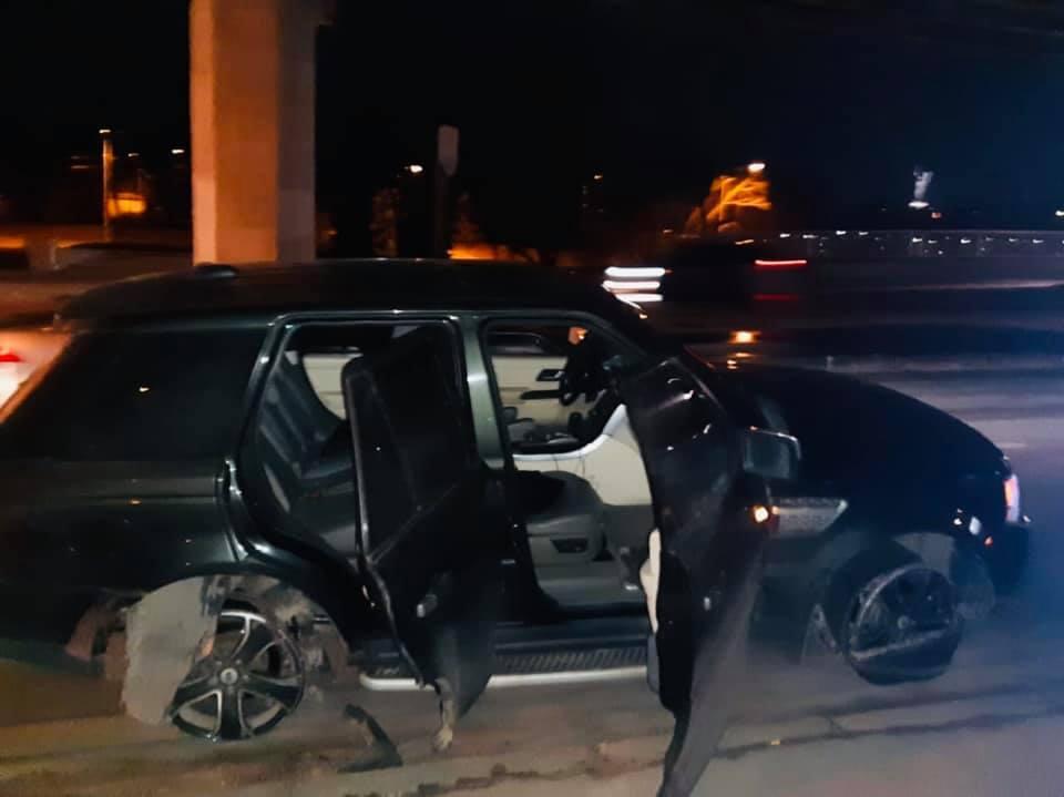 В результате применения оружия никто не пострадал / фото: пресс-служба полиции