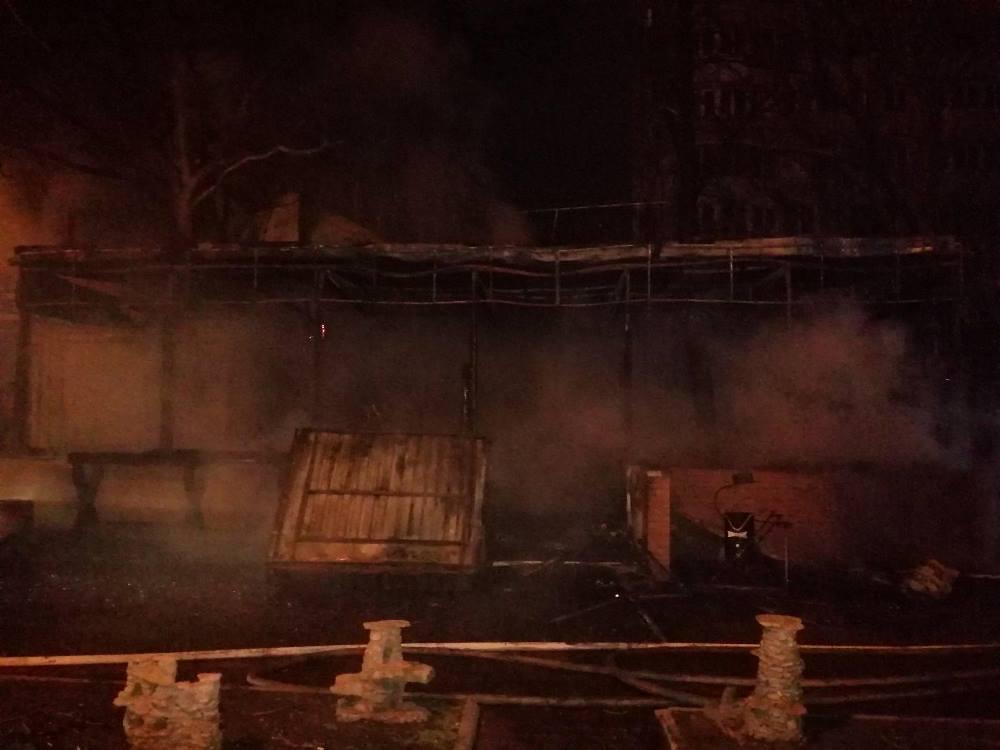 Огнем было охвачено 150 кв. метров / Фото: ГСЧС