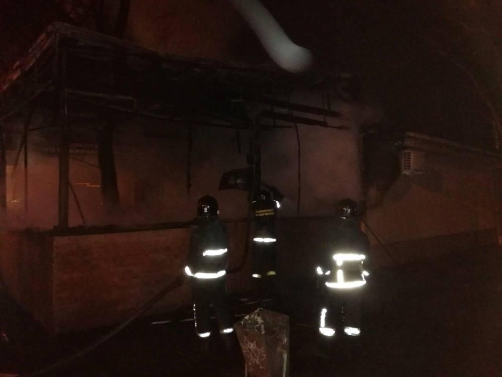 Во время пожара никто не пострадал / Фото: ГСЧС