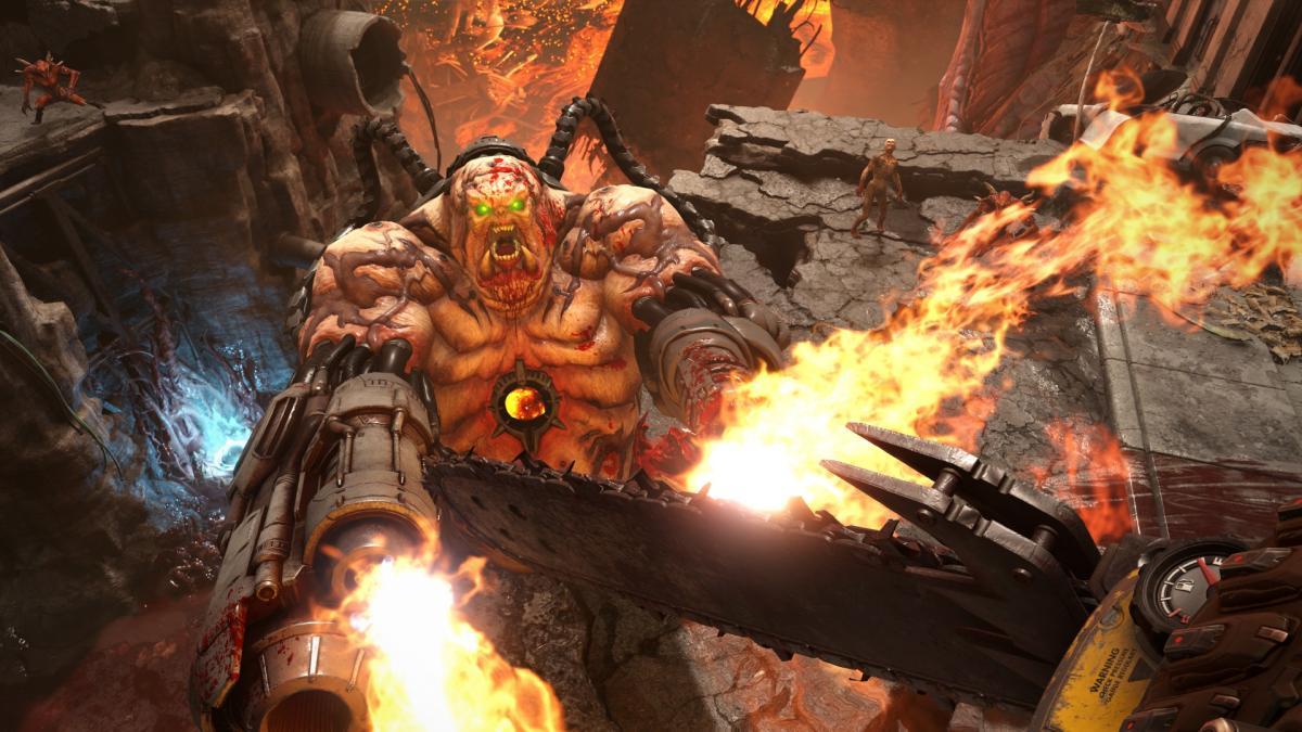 В сети показали мультиплеер Doom Eternal / bethesda.net