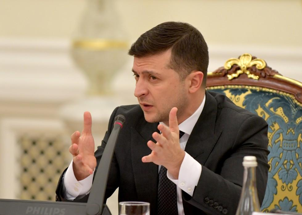 Зеленский заявил о политической поддержке акций протеста против размещения эвакуированных из Китая украинцев / фото president.gov.ua
