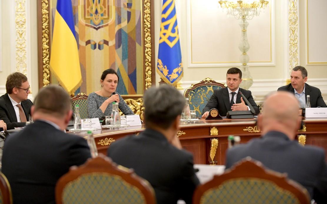 Зеленський зустрівся з бізнесом / фото president.gov.ua