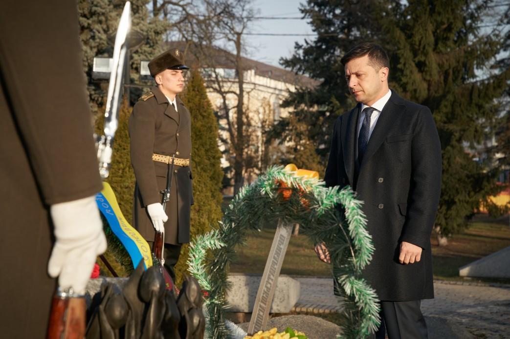 Зеленский почтил участников боевых действий в Афганистане й president.gov.ua