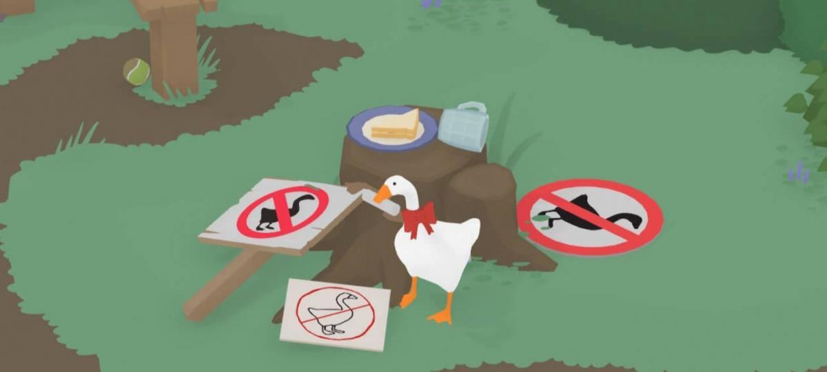Untitled Goose Game стала грою року за версією DICE Awards / goose.game