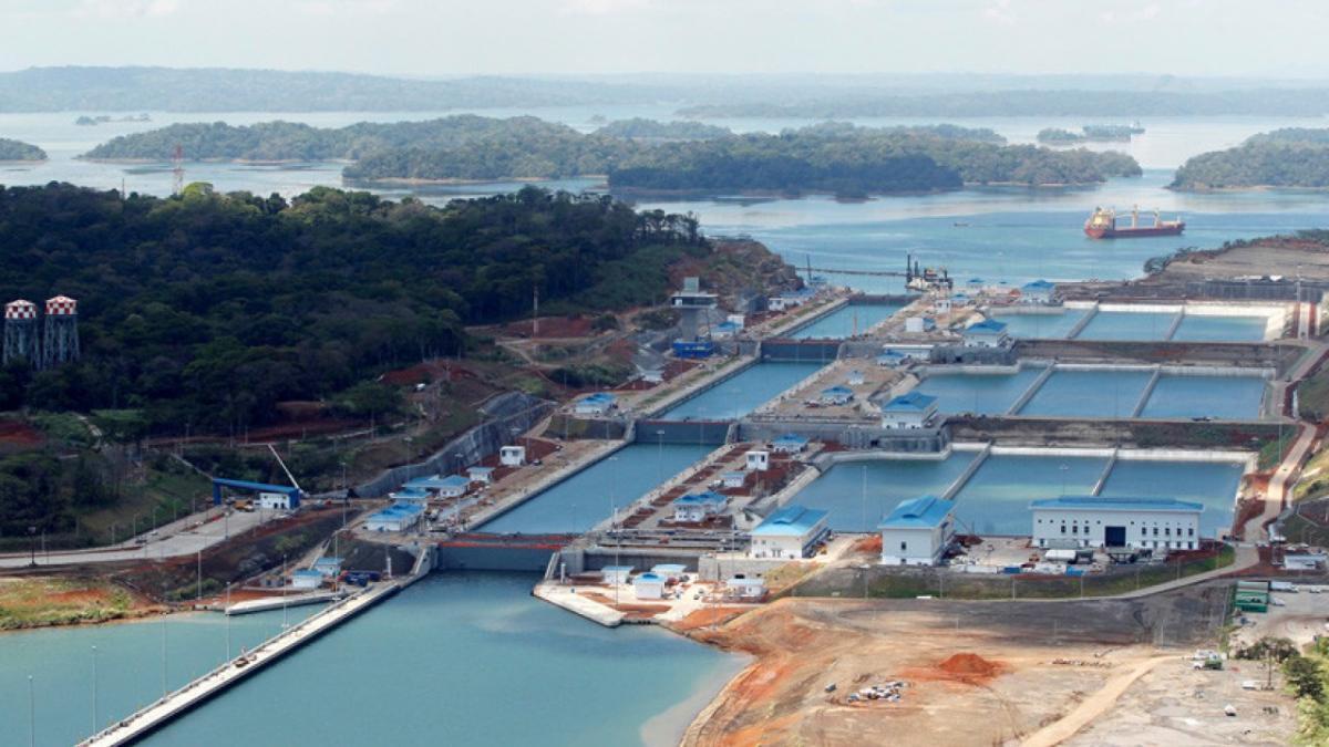 Еще один значимый проект, при реализации которого был использован украинский металл – шлюзовые ворота Панамского канала / фото REUTERS
