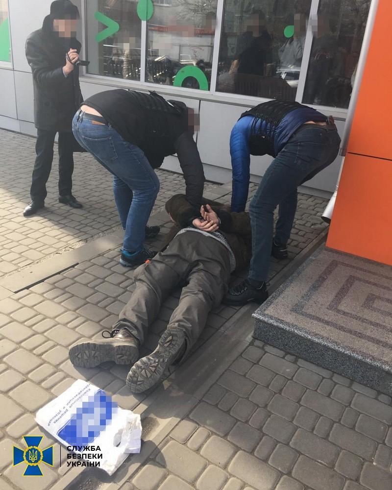 Мужчину задержали в одном из райцентров Кировоградщины / Фото: СБУ