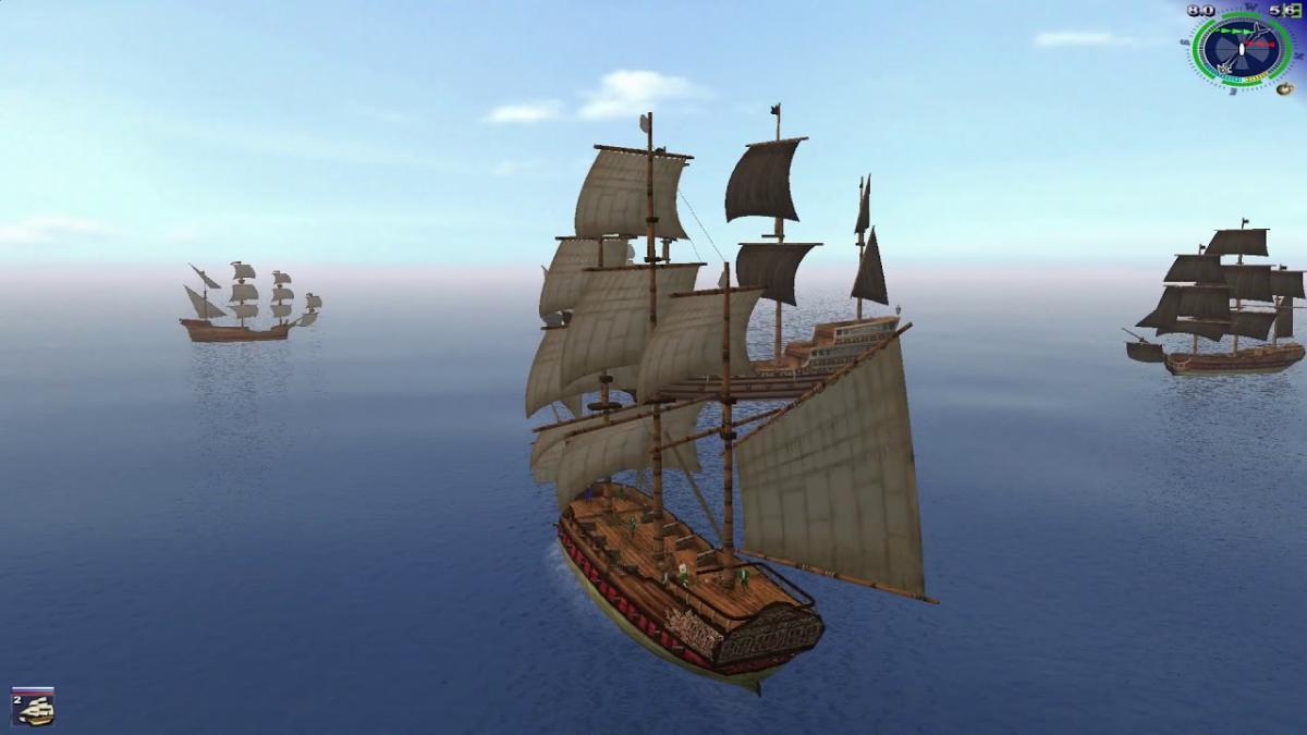 """""""Корсары 2"""" с поправкой на время все еще одна из лучших игр по """"Пиратам Карибского моря"""" / скриншот из игры"""