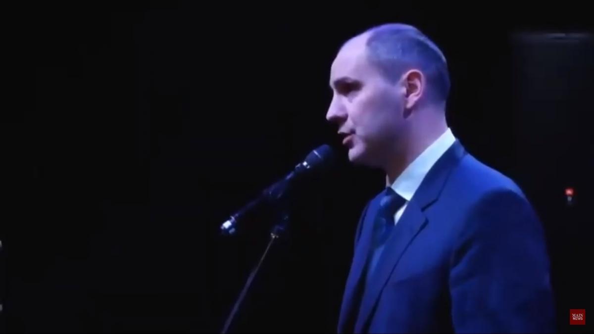 Губернатор обмовився перед сотнями ветеранів / скріншот з відео